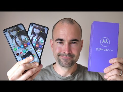 Motorola One Action | Unboxing & Moto Vision Comparison