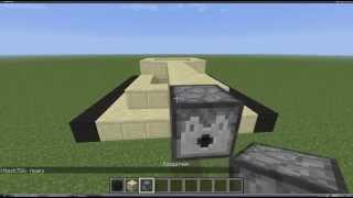 Minecraft:как сделать танк