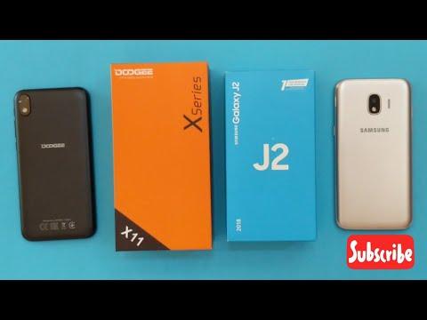 Samsung Galaxy J2 2018 Vs Doogee X11