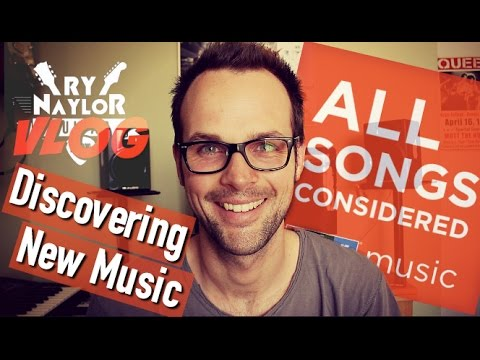 VLOG: Discovering New Music - Podcast Recommendation #1 'All Songs Considered' from NPR Music