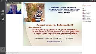 A4_1 Школа астрологии - вебинары по астрологии. Дома гороскопа.