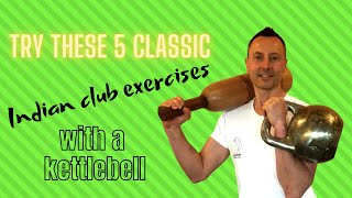Mugdar exercise workout (Mudgar /Clubbell) | Circular exercises with a kettlebell