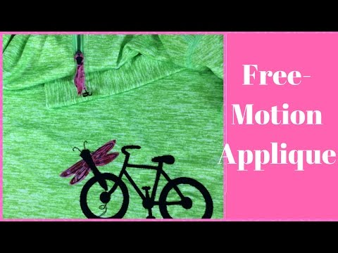 Free-Motion Appliqué Tutorial-Cutting Fabric with a Sizzix BigShot