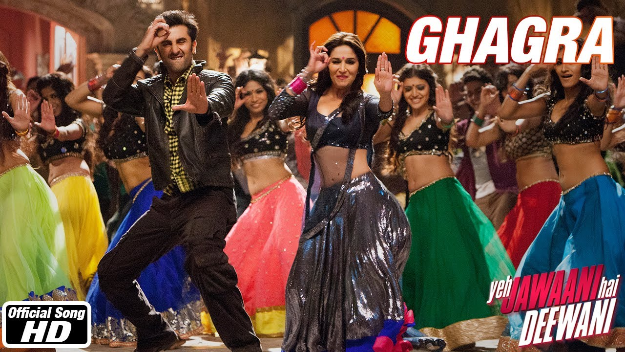 Ghagra - Yeh Jawaani Hai Deewani | Madhuri Dixit, Ranbir ...  Ghagra - Yeh Ja...