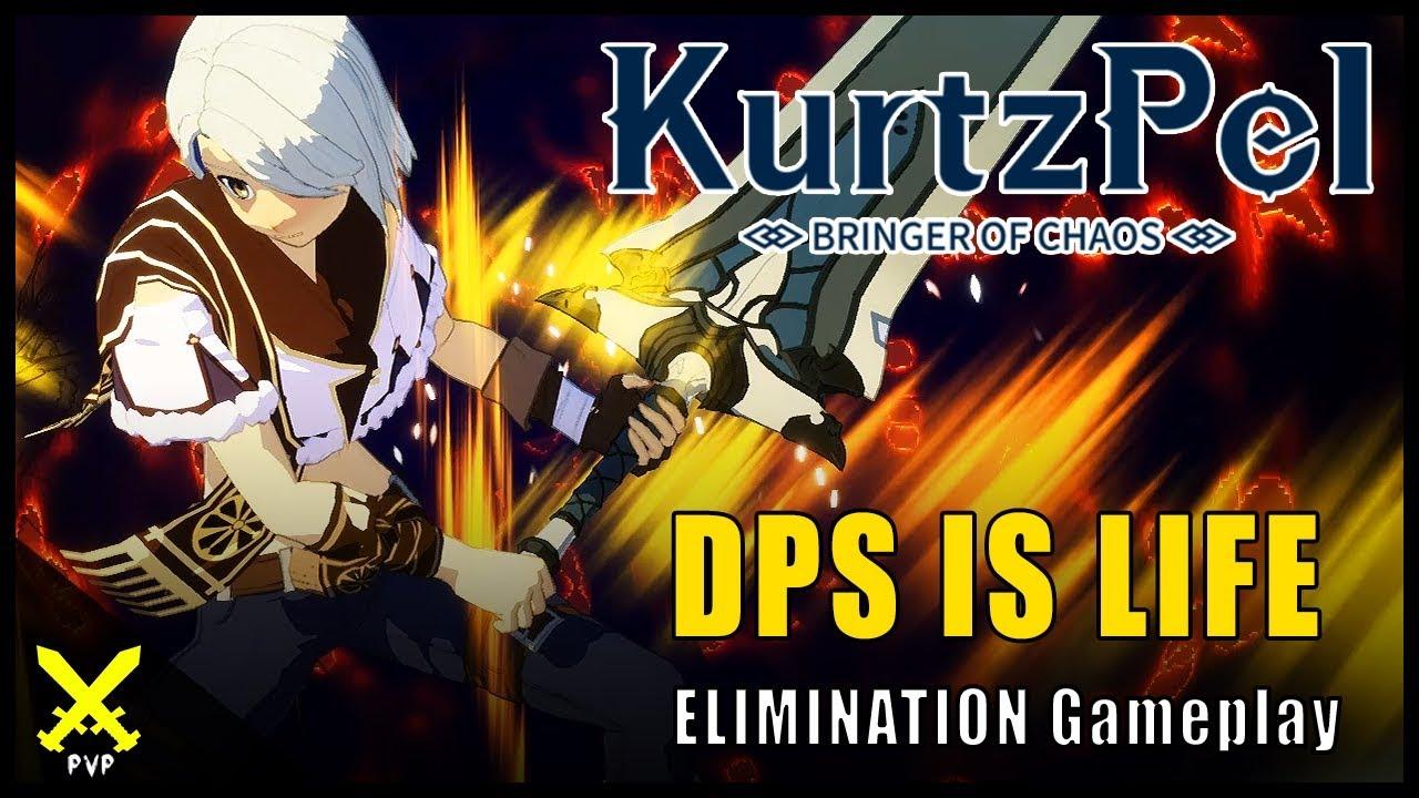 Kurtzpel ▽ DPS IS LIFE [Bow Karma & Greatsword] PvP Gameplay