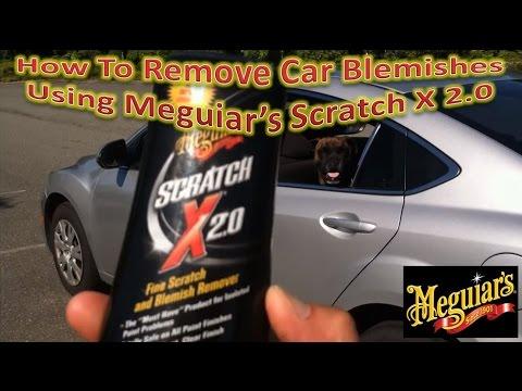 meguiars scratch x 2.0 instructions