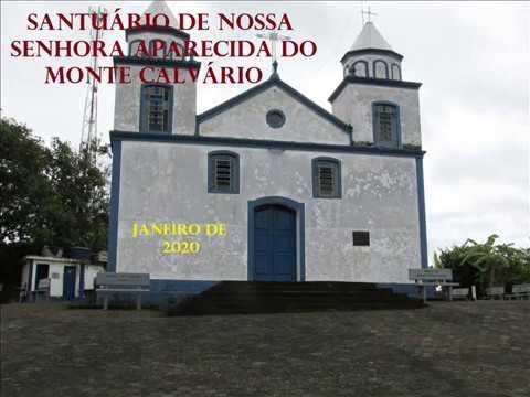 Capela do Monte Calvário em Santa Rita de Jacutinga - Mg (primeira parte)