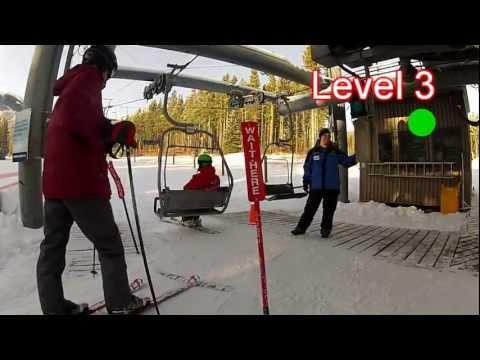 Nakiska Ski Lesson Levels