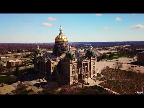 Des Moines By Drone In 4K