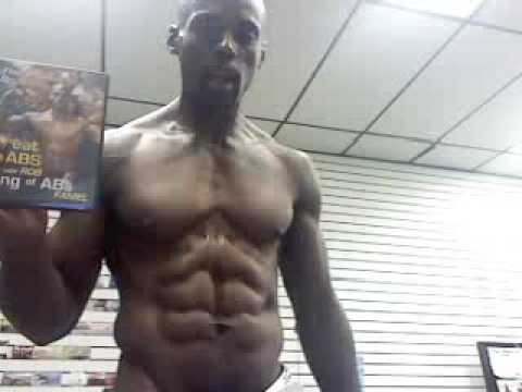Best Abs in the World work out plan Ab Man  on Ransom Allen Show