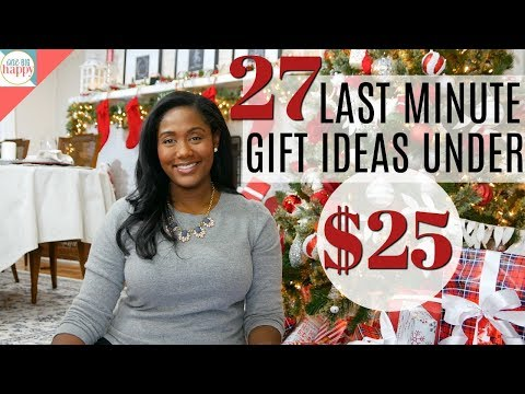 27 Last Minute Gifts Under $25 – Holiday Gift Ideas on the Cheap – Vlogmas #21
