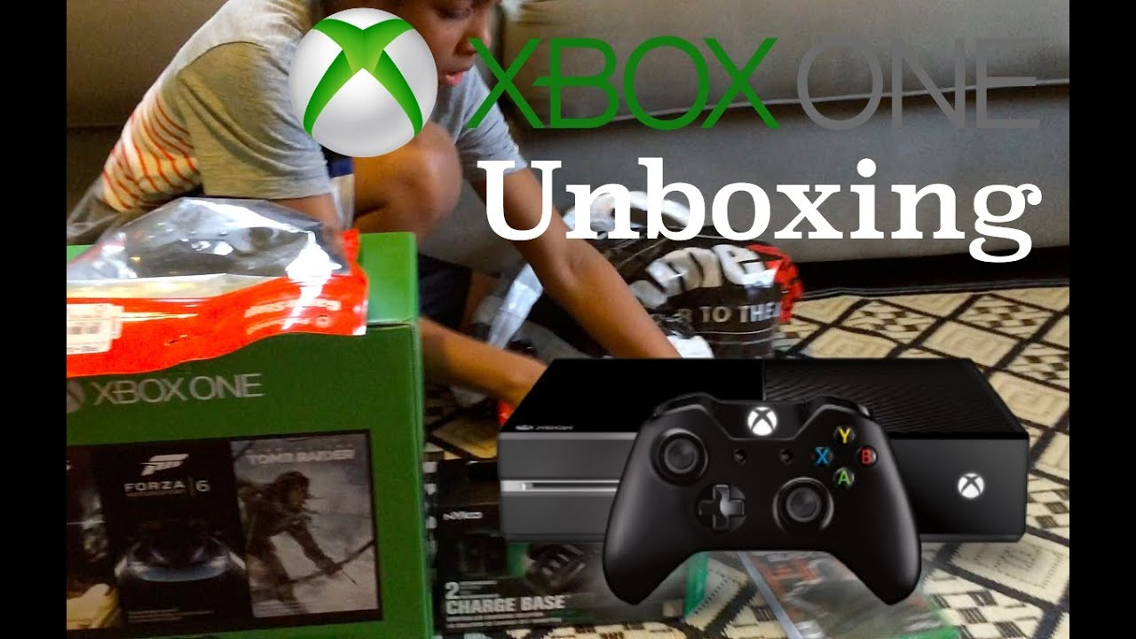we got an early christmas gift xbox one unboxing