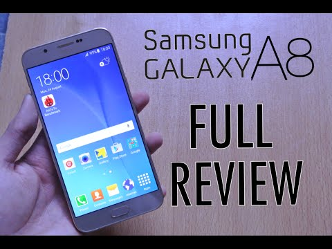 Samsung Galaxy A8 - Full Review HD