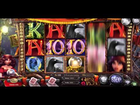 Gypsy Rose Slots Gameplay - BetChain Bitcoin Casino WMV