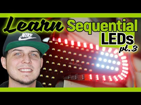 Learn To PROGRAM Sequential LED Tail Light Panels | Ghozt Lighting | FlyRyde