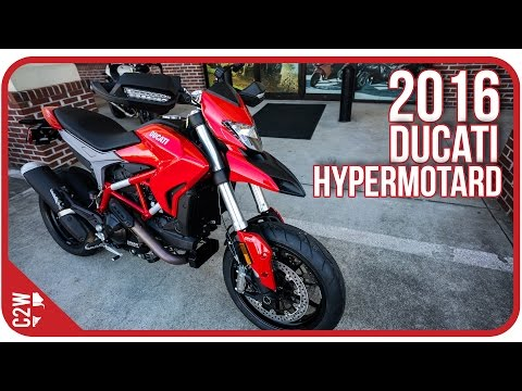2016 Ducati Hypermotard | First Ride
