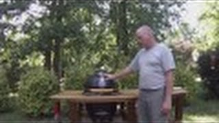 Kamado Vision Grill Table Build Video