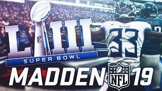 THE SUPER BOWL! Madden NFL 19 Franchise Series FINALE