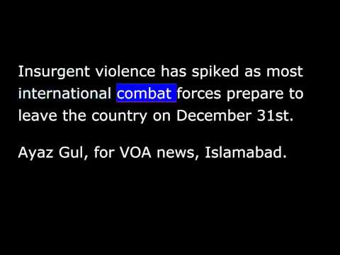 VOA news for Sunday, December 14th, 2014