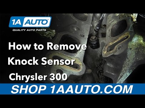 How to Replace Knock Sensor 05-10 Chrysler 300