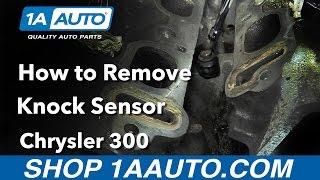 Як замінити датчик детонації для Chrysler 300 05-10