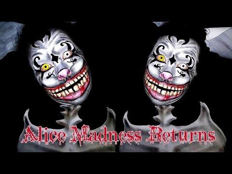 #BreakTheNet Task 4 - Cheshire Cat Make-Up Transformation - Alice Madness Returns