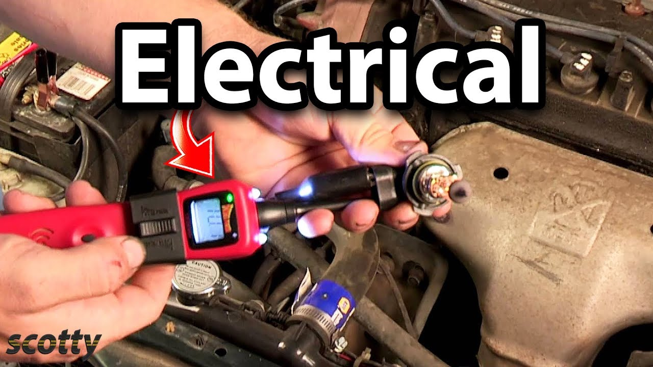 Electrical Troubleshooting In Your Car With Power Probe Youtube Vxdas Vsp200 Vehicle Super Circuit Tester Kit Case And