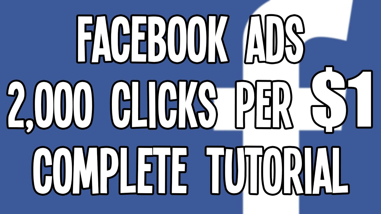 $0 0005 CPC Facebook Ads in the USA: AWESOME Facebook Advertising Tutorial