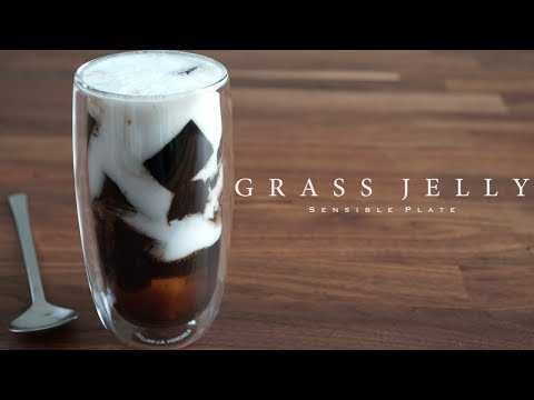 How to Make Grass Jelly with Coconut Milk (Vietnamese Summer Drink 3 of 3)   Sensible Plate