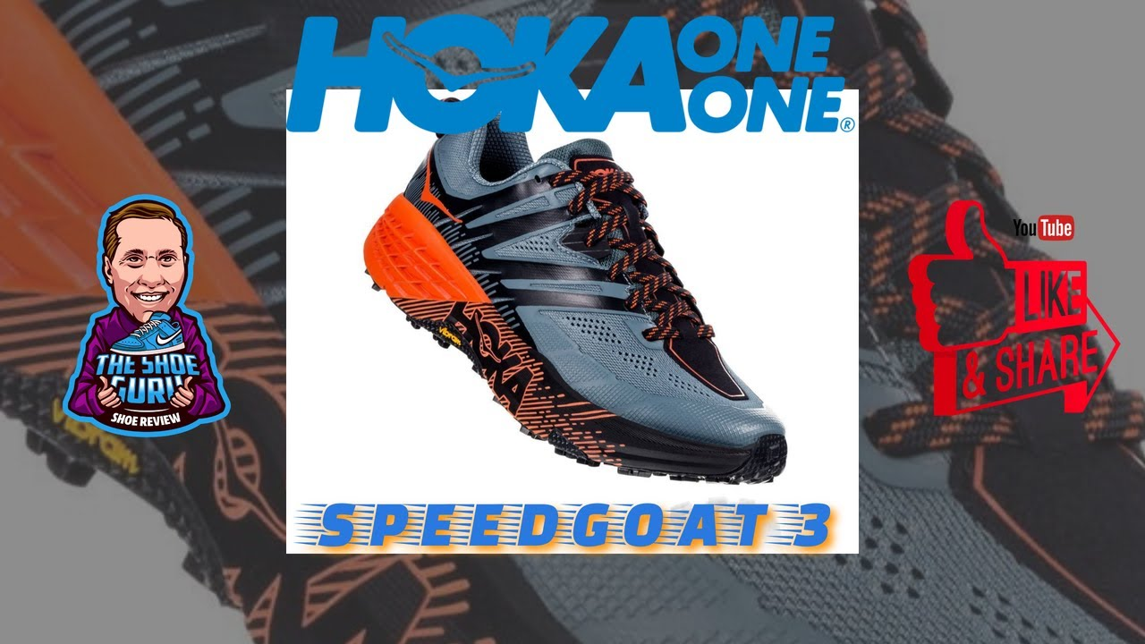 HOKA ONE ONE  Speed Goat 3 Marshmallows for Your Feet!