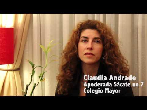 """Claudia Andrade: """"Sácateun7.com me ha dado muy buenos resultados"""""""