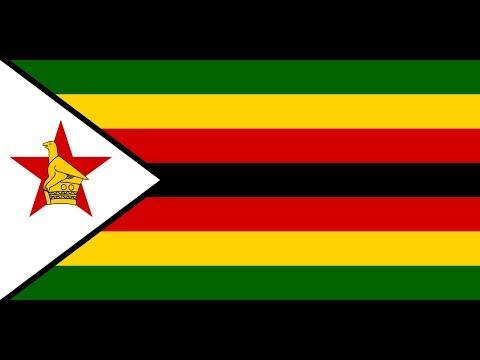 Флаг Зимбабве.