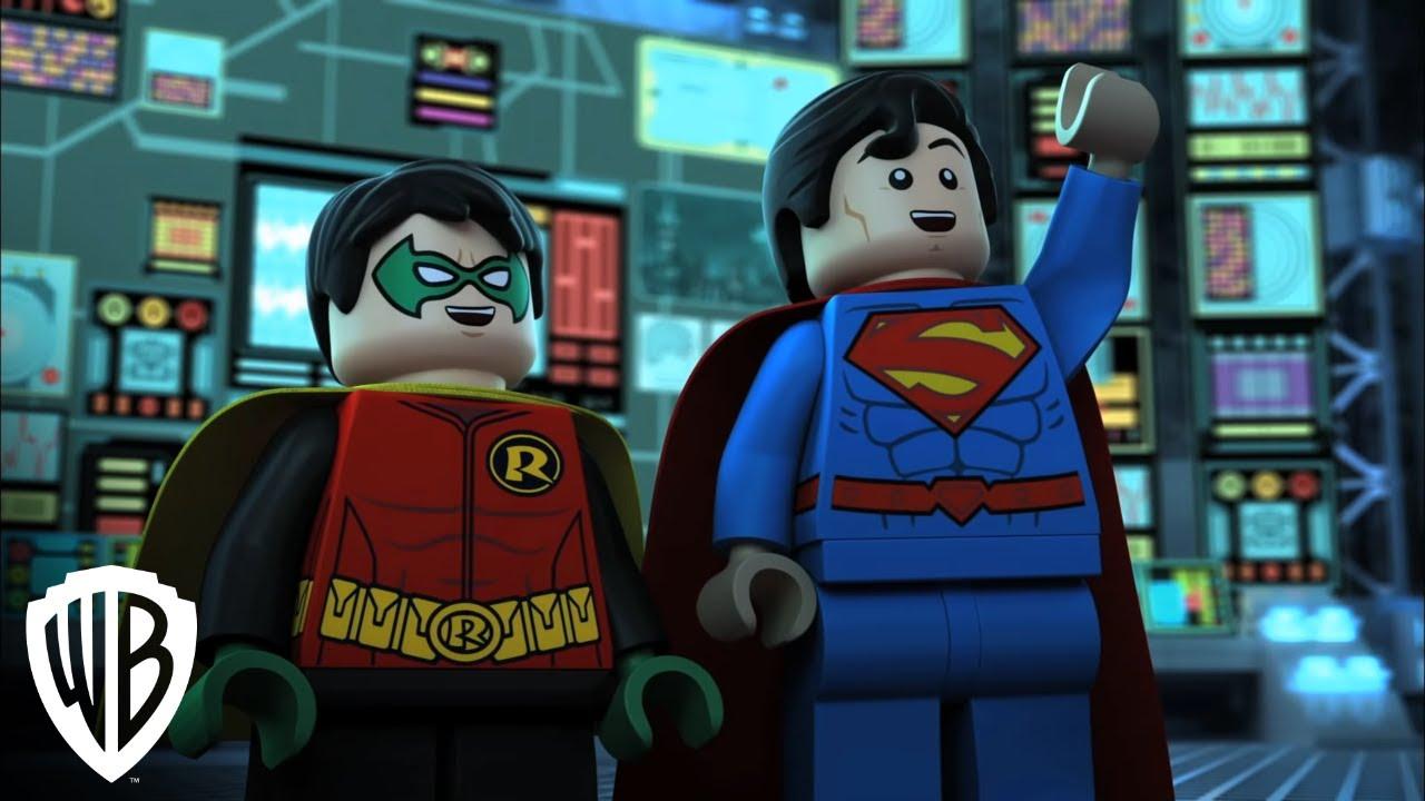 trailer lego dc comics super heroes justice league