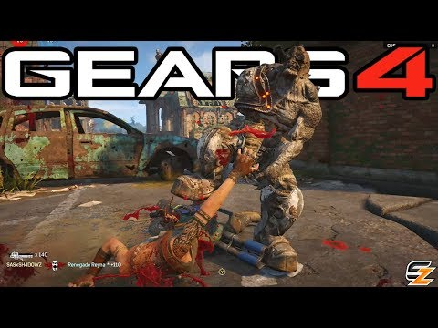 Gears of War 4 - Locust Arm Rip Execution & How to Use it!