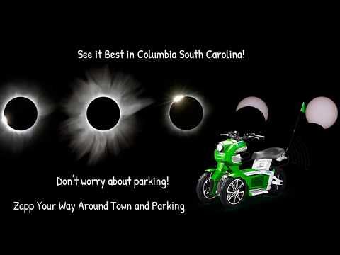 2017 Total Solar Eclipse Columbia South Carolina