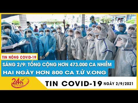 Tin nóng Covid-19 sáng 2/9 Việt Nam tổng 473.530 ca, 248.722 ca khỏi, điều trị 6.330 bệnh nhân nặng