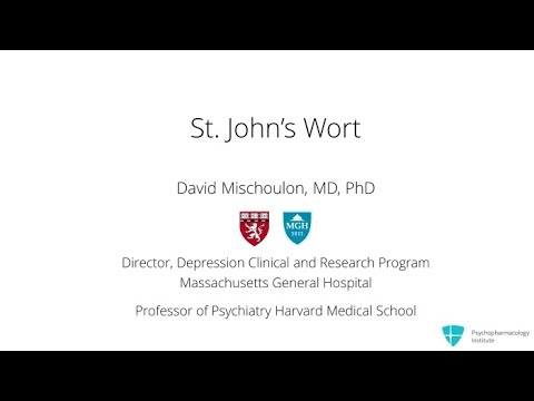 St. John's Wort for Depression: A Clinical Summary