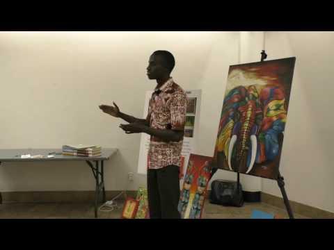 "Bertrand Ishimwe:  ""Make a Move, Shake the World"""