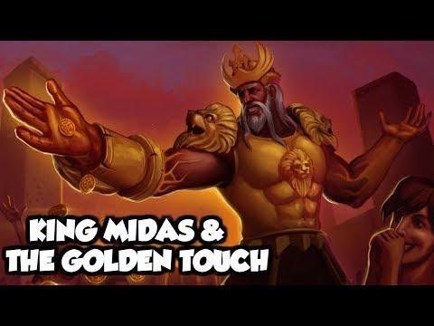 King Midas And The Golden Touch - (Greek Mythology Explained)