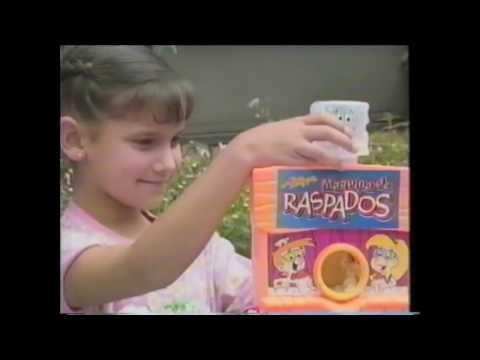 Raspados Multisabores Mi Alegria Comerciales 80s Mexico