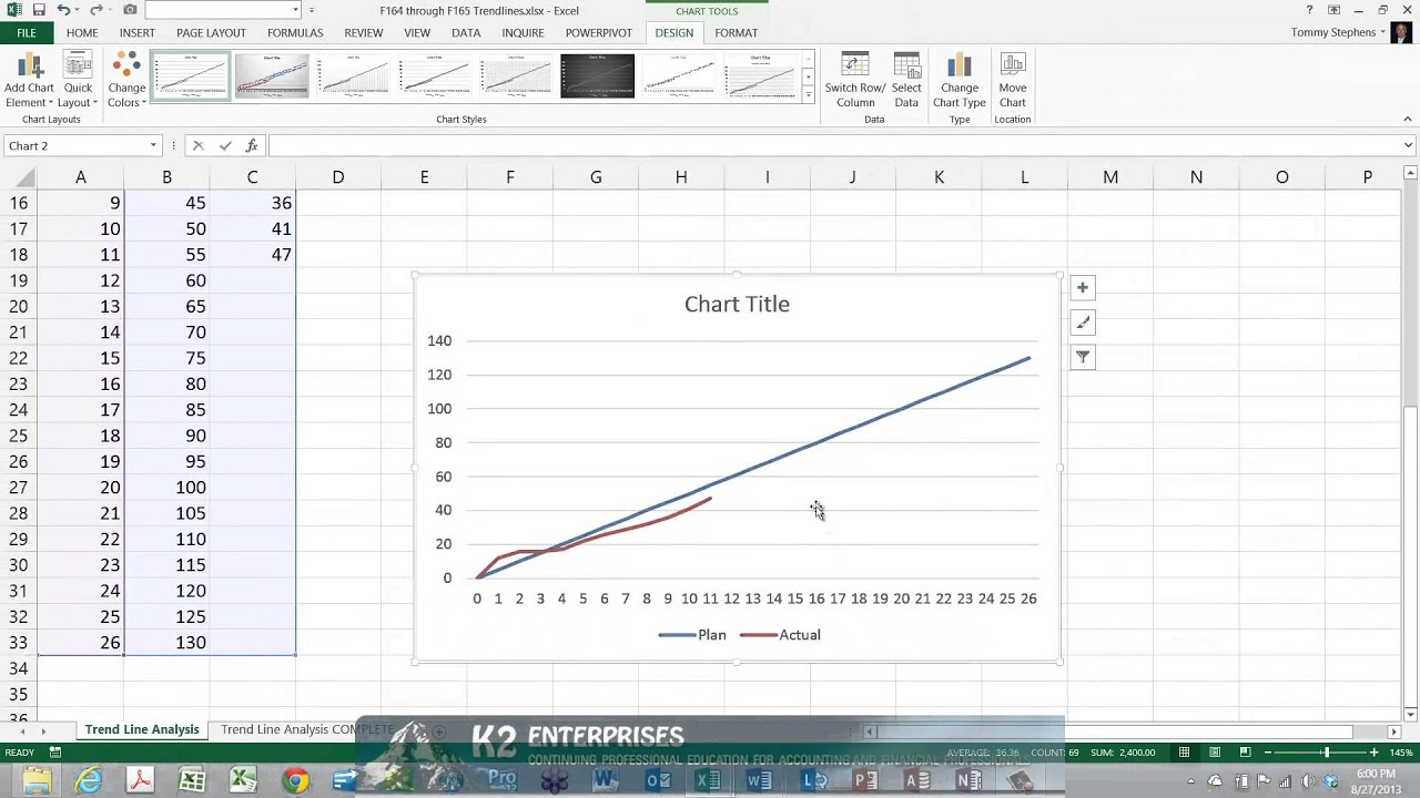 Using recommended charts in excel youtube using recommended charts in excel ccuart Image collections