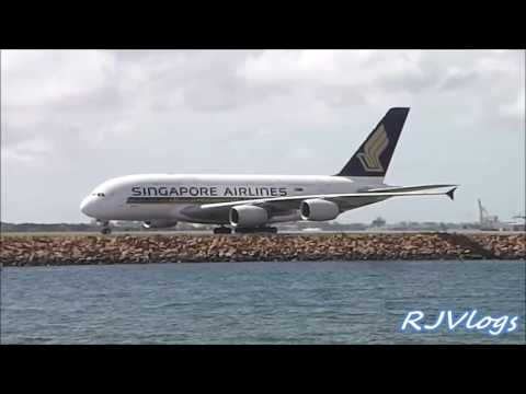 Sydney Airport Plane spotting 2017 ACTION PACKED BIG HEAVY AIRCRAFTS!!!!