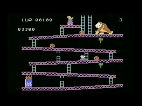 Classic Game Room HD - DONKEY KONG for ColecoVision review