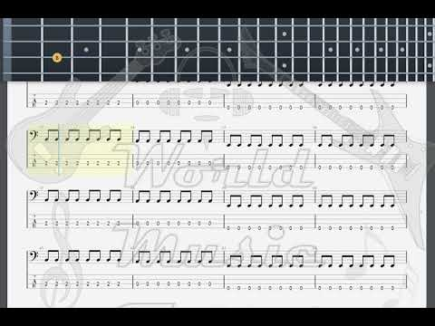 Him Wicked Game Bass Guitar Tab Youtube