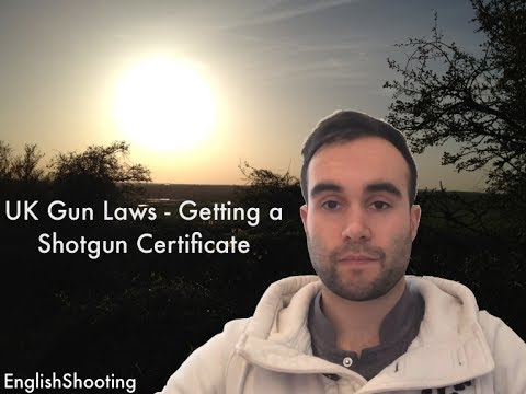 UK Gun Laws - Getting a Shotgun Certificate