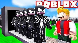 FÁBRICA DO VENOM NO ROBLOX ! (Super Villain Tycoon)