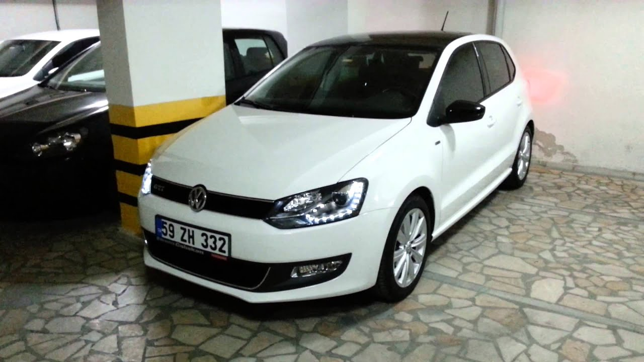 2010-2013 vw polo 6r auto far (leaving&coming home) - youtube