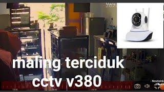 Pencuri Tertangkap Kamera Cctv V380
