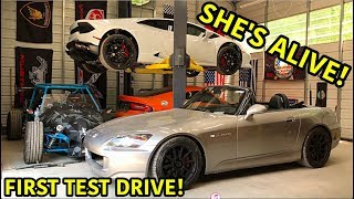 Rebuilding A Wrecked Honda S2000 Part 4
