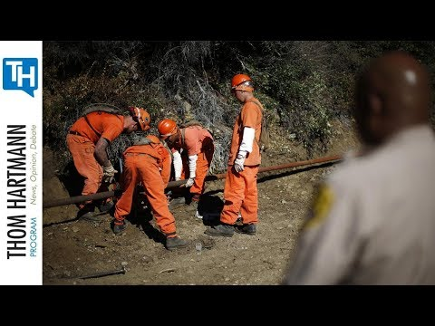 Is Slave Labor Putting Out Fires In California?